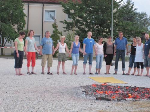 Feuerlauf 28.07.2012 im Parkhotel Heidehof